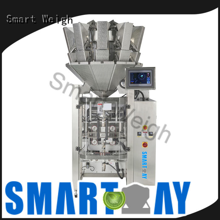 Smart Weigh easy operating vacuum packing machine station for food weighing