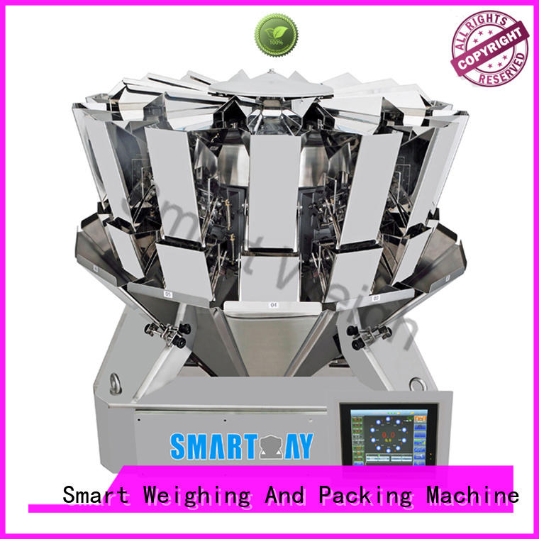 smart multihead weigher packing machine screw salad Smart Brand