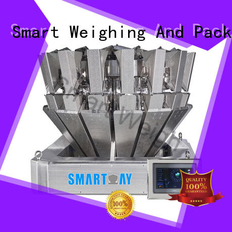 easy-operating multi head scales speed widely use for food weighing