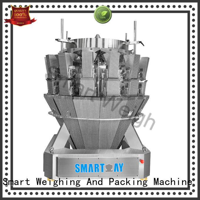 Smart Weigh multihead weigher packing machine for food weighing