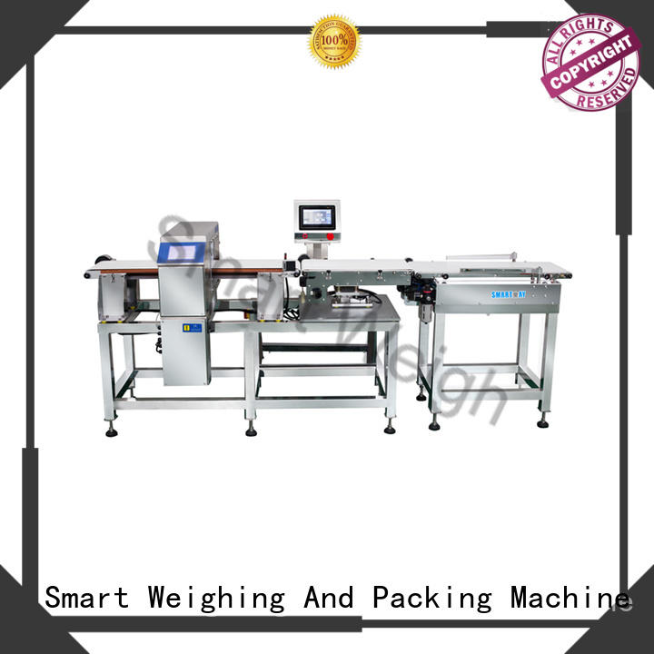Smart Weigh best-selling metal detector machine customization for food packing