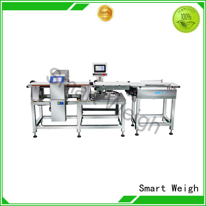 Smart Weigh adjustable check weigher machine free quote for food labeling