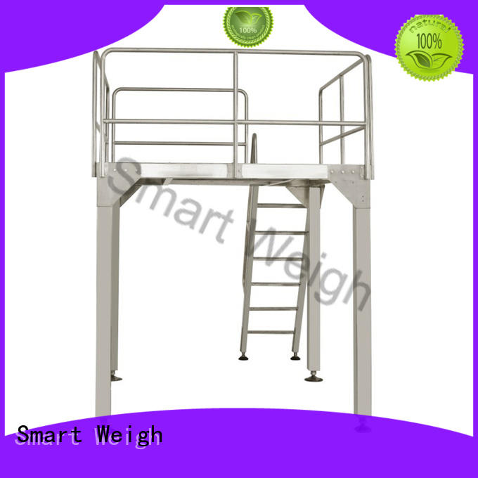 Smart Weigh platform output conveyor with cheap price for food weighing