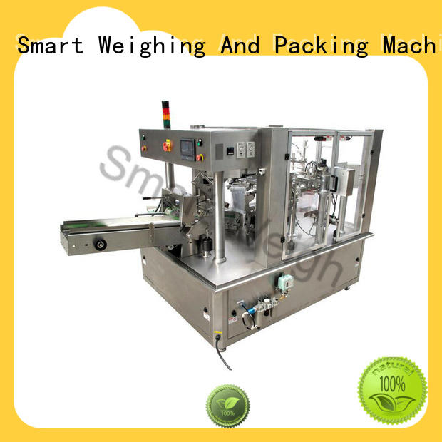 stable pouch packing machine price head with cheap price for foof handling