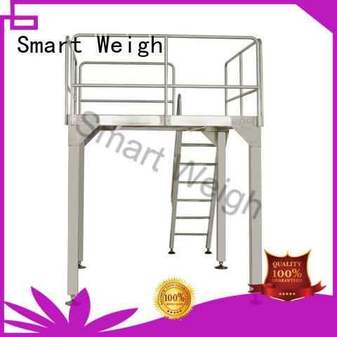 Hot aluminum work platform bucket Smart Weigh Brand