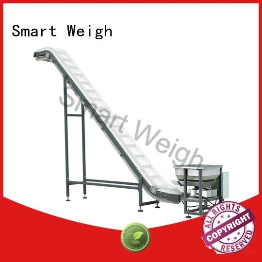 Smart Weigh easy-operating bucket conveyor China manufacturer for food labeling