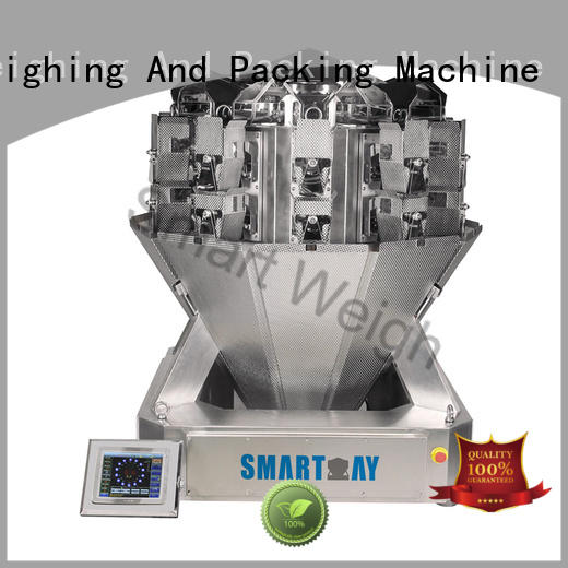 Smart Weigh screw metal detector factory price for food labeling