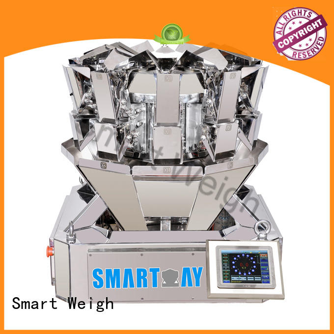 Smart Weigh salad multihead weigher factory price for foof handling