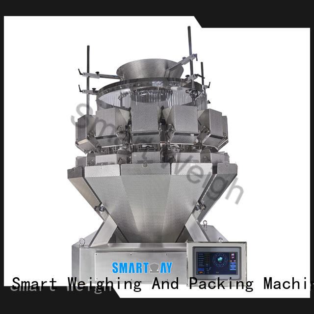 Smart Weigh easy-operating multihead weigher factory price for food weighing