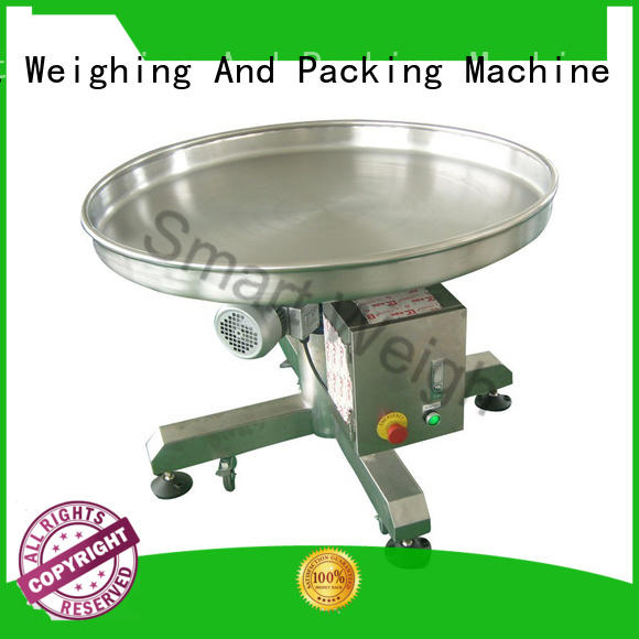 Smart Weigh steady output conveyor order now for food packing