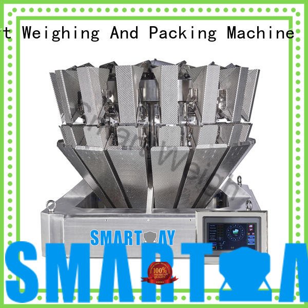 Smart Weigh steady multihead weigher price salad for foof handling
