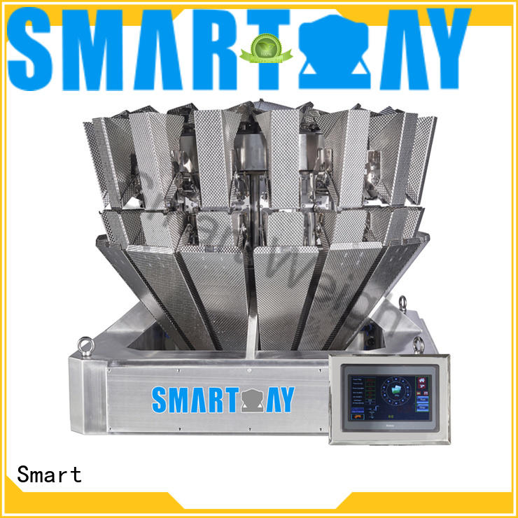 multihead weigher packing machine screw accurate mixture Smart Brand company