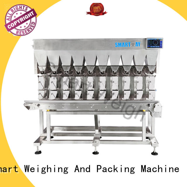 Smart Weigh adjustable multihead weigher factory price for food weighing