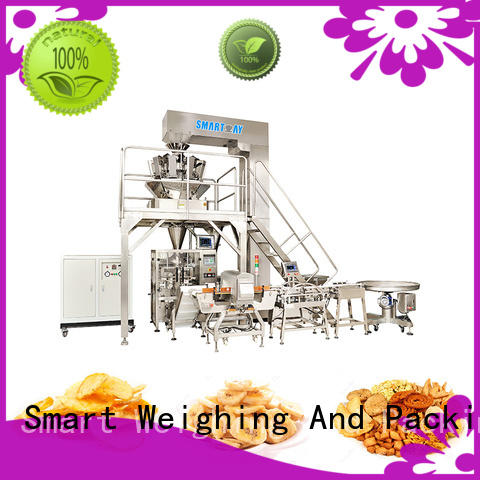 Smart Weigh durable automated packaging systems in bulk for food weighing