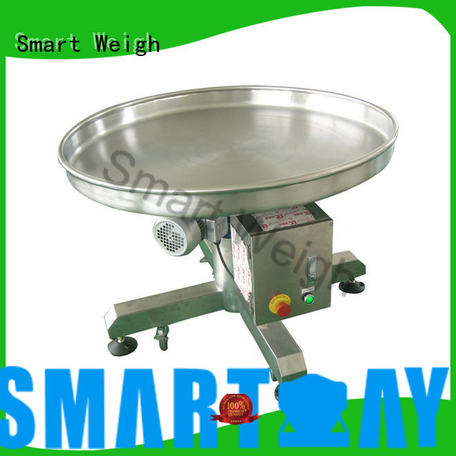 incline output working Smart Weigh Brand working platform