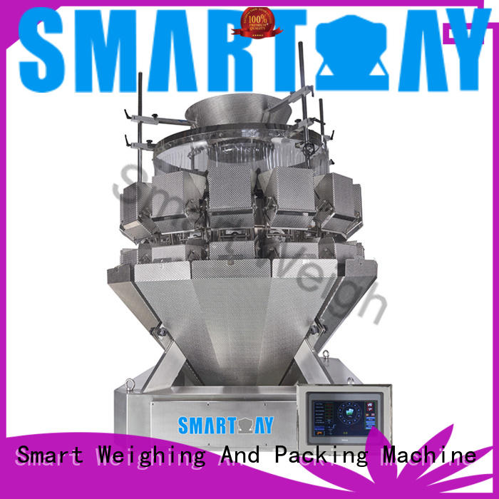 easy-operating chinese multihead weigher screw widely use for food weighing