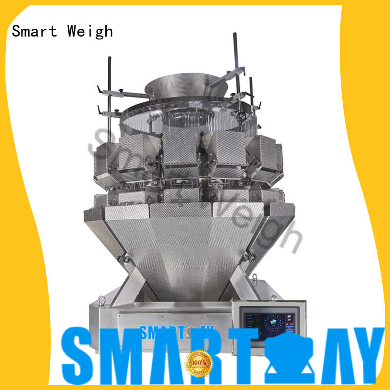 speed multihead checkweigher discharge for food weighing Smart Weigh
