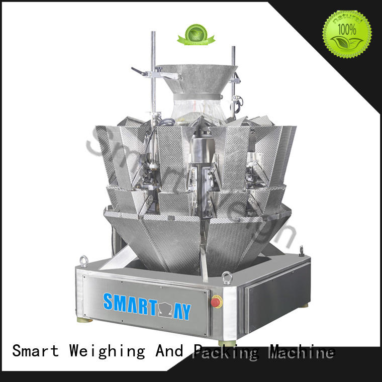 Smart Weigh mini multihead weigher from China for food packing