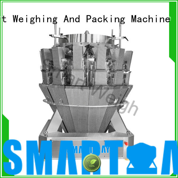 Smart Weigh multihead weigher packing machine bulk production for food labeling