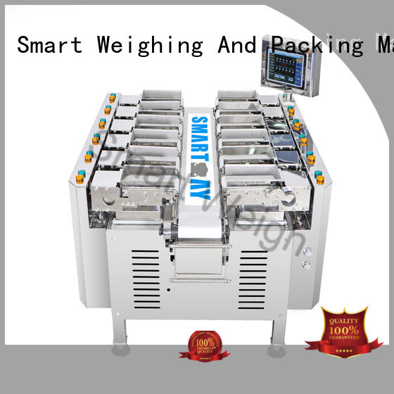 shape channel linear weigher head for food packing Smart Weigh