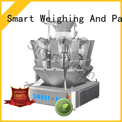 multihead weigher packing machine salad smart multihead weigher Smart Weigh Brand