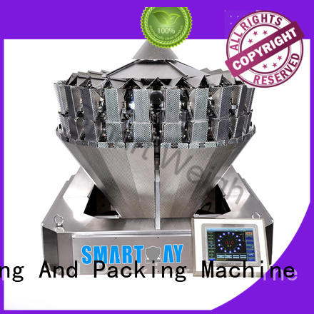 steady multihead weighing machine mini order now for food labeling