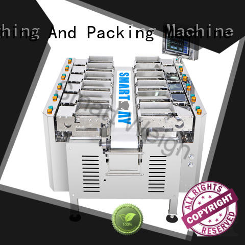 Smart Weigh fish packing machine order now for food weighing