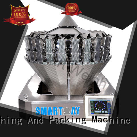 Smart Weigh accurate multihead weighing machine from China for food labeling