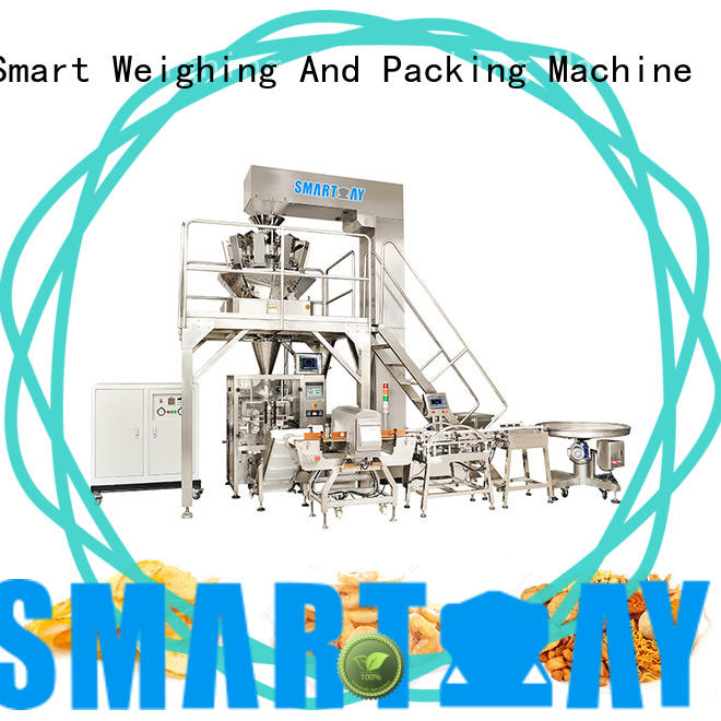 Smart Weigh premade wrapping machine customization for food weighing