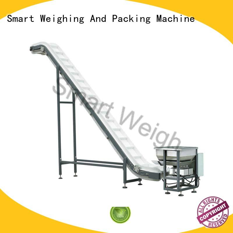 Smart Weigh weigh bucket conveyor factory price for foof handling
