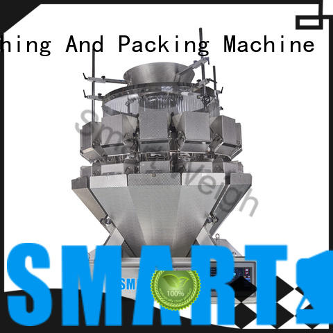 Smart Weigh durable chinese multihead weigher inquire now for food labeling