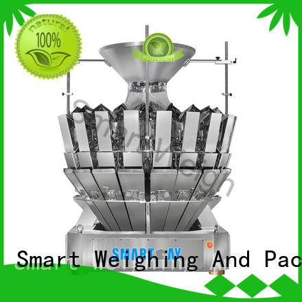 multihead weigher packing machine discharge accurate Smart Weigh Brand multihead weigher