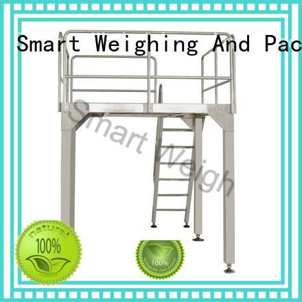 Hot working aluminum work platform rotary Smart Weigh Brand