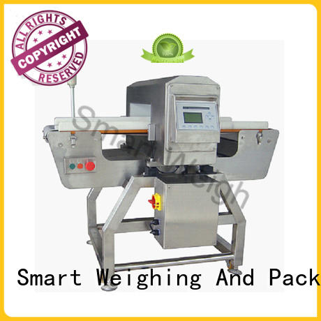 Smart Weigh adjustable metal detector machine free quote for food packing