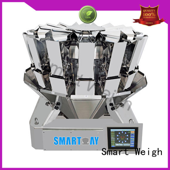 Smart Weigh salad best multihead weigher from China for food weighing