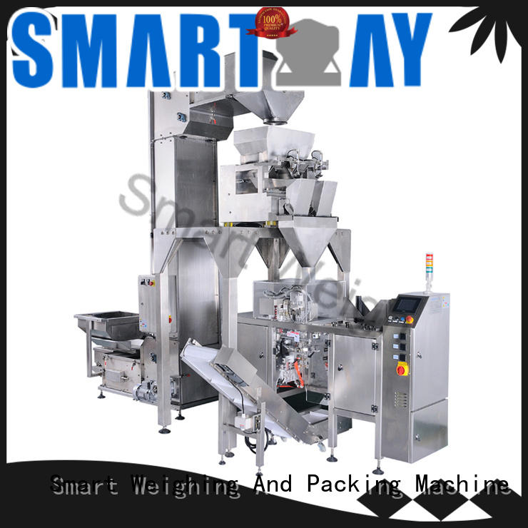 Smart Weigh machine weighing packing system customization for foof handling