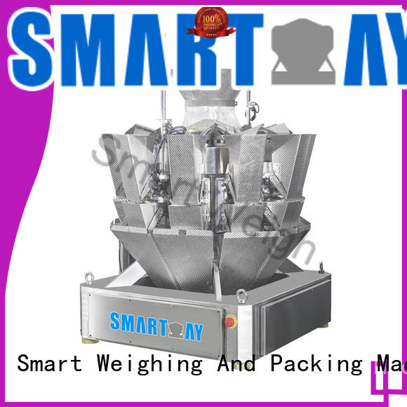 Smart Weigh best-selling 14 head multi head combination weigher order now for food labeling