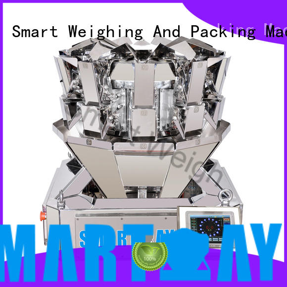 Smart Weigh durable best multihead weigher from China for food weighing