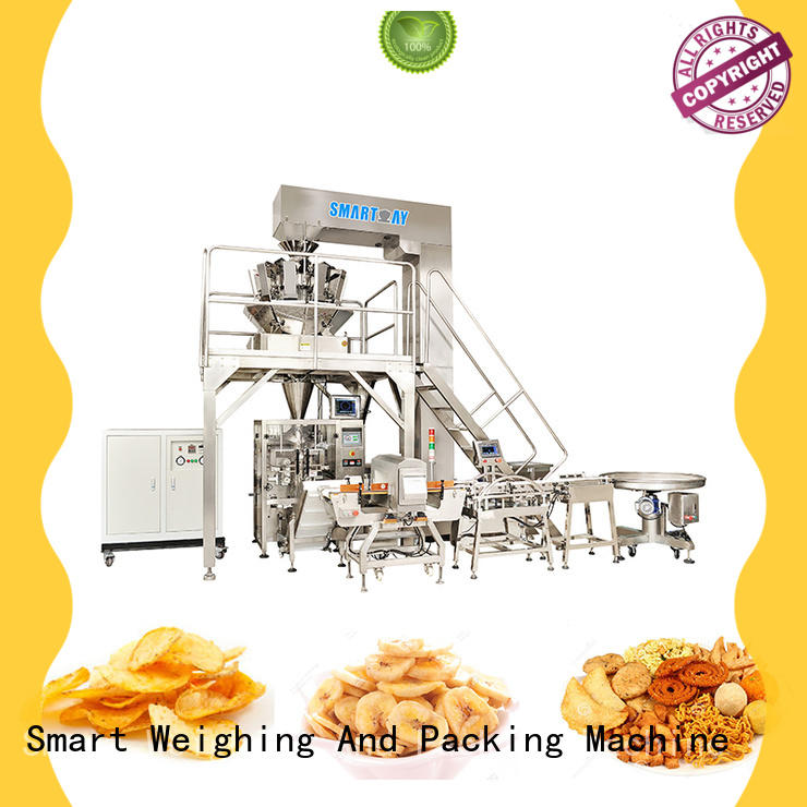 Smart Weigh steady system packaging in bulk for foof handling