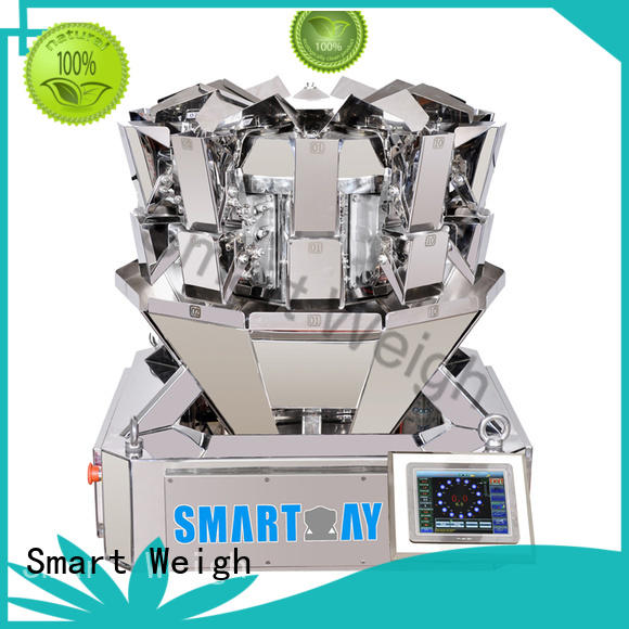 Smart Weigh best-selling best multihead weigher factory price for food labeling