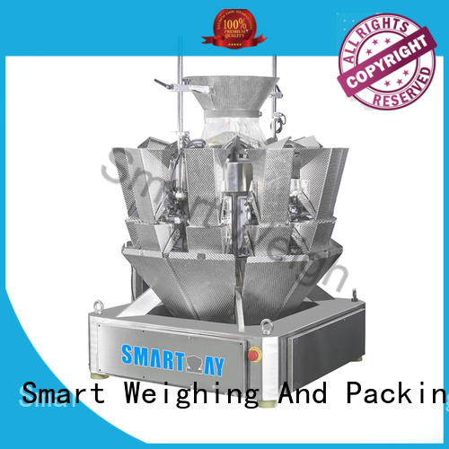 Smart Weigh mini bulk multi head weigher factory price for foof handling