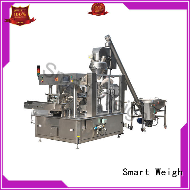 Smart Weigh steady weighing packing system factory price for foof handling