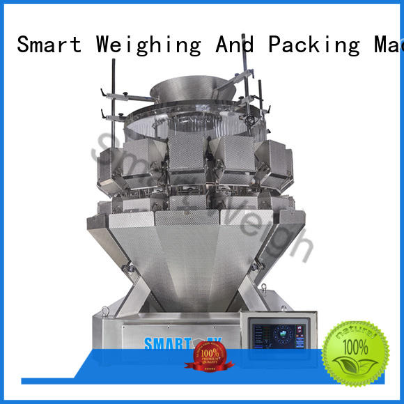 speed mixture salad multihead weigher screw Smart