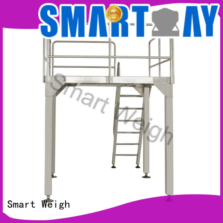 Smart Weigh rotary incline conveyor free quote for food weighing