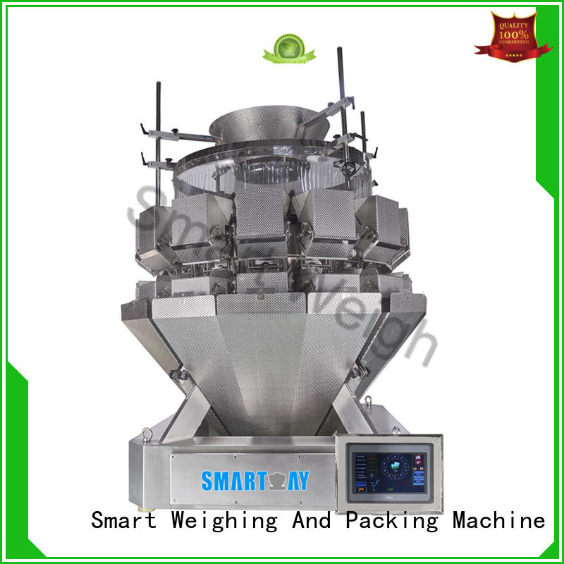 Custom screw multihead weigher discharge Smart Weigh