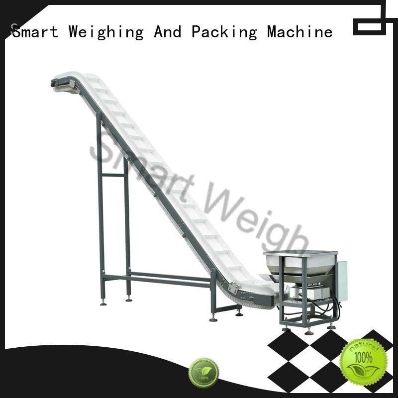 Smart Weigh durable bucket conveyor in bulk for food labeling