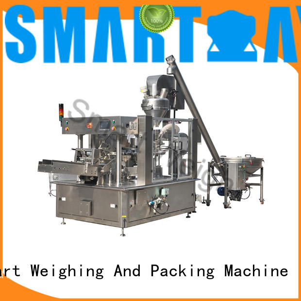 Smart Weigh easy-operating luggage packing system in bulk for food labeling