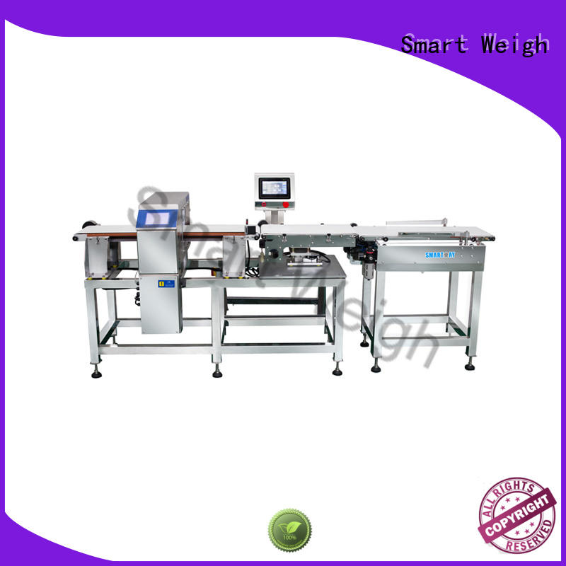 Smart Weigh combined inspection equipment customization for food weighing