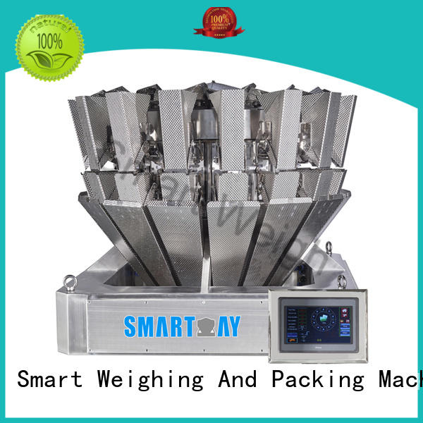 Smart Weigh head multihead weigher packing machine for-sale for food packing