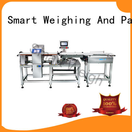 Smart Weigh adjustable check weigher machine factory price for foof handling